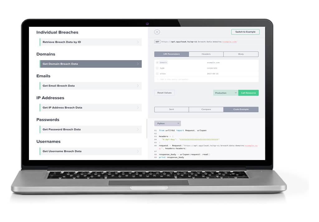SpyCloud API Demo